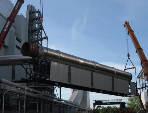 Rohrbrücke MHKW Mannheim